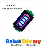 6.8V - 8.4V Lithium  Li-Po Battery Voltage Indicator Display