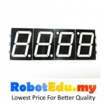 1.8 Inch JY-MCU 4 digital 7 segment clock display module - TM1637