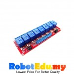 12V Relay 8 Channel Optocoupler Protection Arduino Module