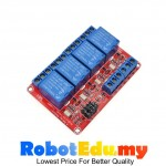 12V Relay 4 Channel Optocoupler Protection Arduino Module