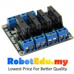 4 Channel Way Omron SSR Solid State Relay Module ; Arduino 240V AC
