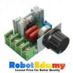 2000W 220V AC Voltage Regulator Motor Speed Controller LED Dimmer