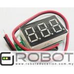 Arduino 0.36in Voltmeter Voltage Indicator Display Sensor 4.8V-30V
