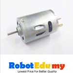 12V RS-385SH Dual Double Shaft DC Motor