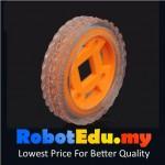 4712 Mini Rubber Wheel 47mm D4 ; for 4mm Motor Shaft
