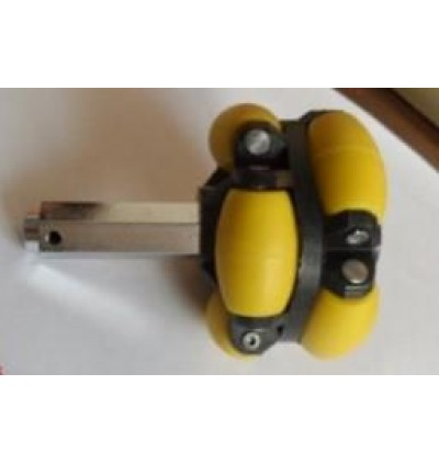 2HL-70 70mm Omni Directional Universal Poly Roller Wheel ; Double Side