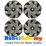 48mm Omni Directional Mecanum Wheel Set ; Rollers Motion Tyre 14209