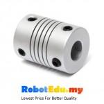 Aluminum Alloy Flexible Shaft Coupling Connector for Stepper Motor;