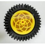 Arduino Sumo High Friction Rubber 6v DC Motor Servo Wheel 78mm 80mm