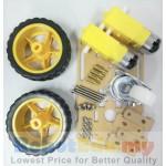 Arduino 2WD 150mm Mini Smart Robotics Car 6V DC Motor Chassis Kit Set