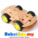 Arduino 4WD 2 Layer Smart Car Robot Chassis Kit Base Set - V2