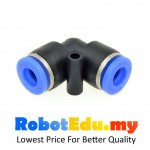 PV-6 L Type Elbow Fitting ; 6mm Pneumatic Hose