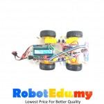 Arduino 4WD Line Following Robot with 5 Way Line Following IR Sensor