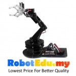 6 DoF Robot Arm Set ; Robotics Hand Gripper Arduino Learning RC Kit
