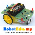 DIY Line Following Robot Car Kit ; Black White Color Detect Follower