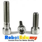 Stainless Steel Socket Allen Key Cap M3 Screw /Bolt-5 10 16 20 30 50mm