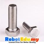 Stainless Steel Hex M4 4MM Machine Screw / Bolt - 5 10 16 20 30 50mm