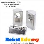 Aluminium Profile 2020 EU 20 Spring Elastic T Nut ( M4 M5 )