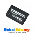 Micro SD SDHC to Memory Stick MS Pro Duo Card Reader Adapter PSP