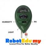 3 in1 Soil pH / Moisture /  Light Meter