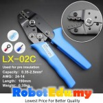LX-02C 0.35-2.5mm2 Wire Cable Insulated Terminal Crimping Press Pliers