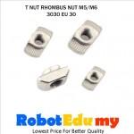 Aluminium Profile 3030 EU 30 T Slot Rhombus Nut T Nut ( M5 , M6)