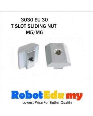 Aluminium Profile 3030 EU 30 T Slot Sliding Nut Square ( M5 , M6)