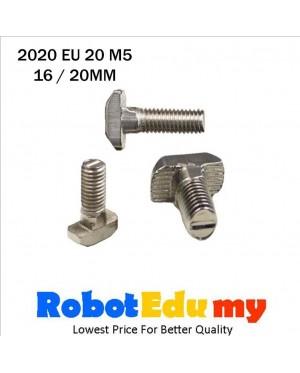 Aluminium Profile 2020 EU 20 T Slot T Bolt M5 ( 16 , 20 mm )