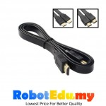 HDMI 1.5m Cable Wire V1.4 Flat-type HD Monitor Computer TV RaspberryPi