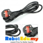 3-Pin UK 13A Fused AC Switching Power Supply Adapter Power Cord Cable