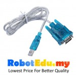 HL-340 USB to RS232 Serial Port Adapter Cable ; PDA 9 Pin 80cm