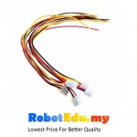XH2.54 - 3P 20cm AWG 26 cable ; wire with pin header plug socket