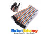 Arduino 40p Breadboard Dupont Jumper Wire Female to Male (FM ) 10cm/ 20cm / 30cm