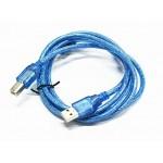 Arduino / 3D 2D Printer USB B Type Cable ( 30cm )( Blue ) B-Type Cable
