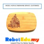 Wood Acrylic Customize CNC Laser Engraving Service