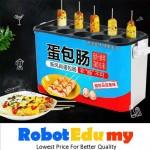 [New] 10 pcs Commercial Egg Sausage Maker Hotdogs Eggs Roll Maker