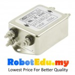 3A AC Power Line Single Phase Noise EMI Filter ; Bolt and Nut type