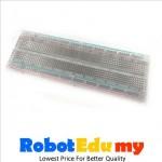 MB102 Transparent 830 tie point breadboard