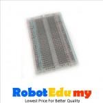 MB102 Transparent 400 tie-point mini breadboard