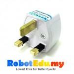 10A 3 Pin Power Revolving Standard Universal Plug Converter Malaysia