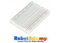 MB102 Solderless Mini Breadboard 400 holes 8.5cm X 5.5cm for Arduino