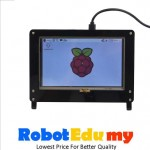 Raspberry Pi 5 Inch Touch Screen LCD Black Arcylic Casing