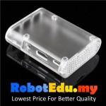 Raspberry Pi ABS Casing V2 Transparent ; No GPIO Slot Plastic Case