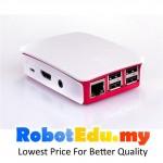 Raspberry Pi 2 3 B B+ Red & White ABS Casing ; Case Enclosure