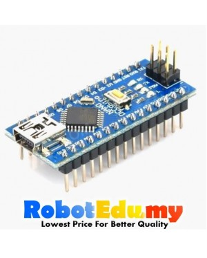 Arduino Compatible Atmega328P Nano + USB Mini Cable