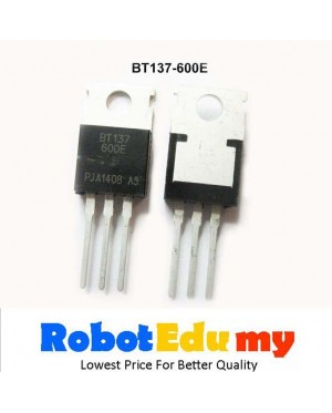BT137-600E Sensitive Gate General Purpose Bidirectional Switching