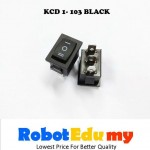 KCD1-103 Rocker Switch Black 21*15mm On Off Button