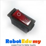 KCD3 Rocker Switch Red Green LED On Off Button (3 pin)