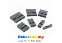 Jumper Dupont Wire Terminal Connector Housing 2.54mm 1P - 10P [5pcs]