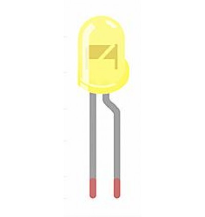 Electronic Component - LED 3MM 5MM ( RED GREEN YELLOW BLUE ) 10PCS